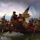 Washington Crosses the Delaware painting to Trenton, New Jersey