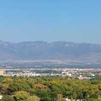 Panoramic View of Albuquerque, New Mexico