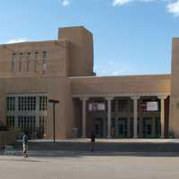 Zimmerman Library at University of New Mexico