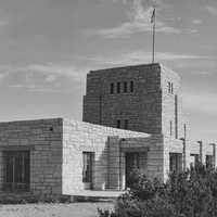 Elevator House around 1933-42 in Carlsbad Caverns National Park, New Mexico