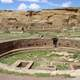 Chaco Canyon ancient ruins in New Mexico