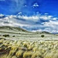 Landscape and skies in New Mexico