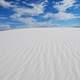 Landscape and Skies of White Sands, New Mexico