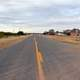 Roadway landscape in Newkirk, New Mexico