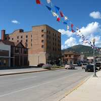 Street through Raton, New Mexico