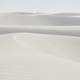 White Sand Dunes in New Mexico