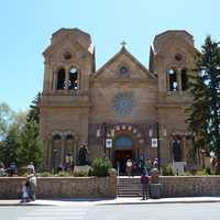Cathedral Of Basilica in Santa Fe, New Mexico
