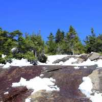 Snow on the Mountain in the Adirondack Mountains, New York