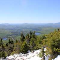 View from Cascade at Adirondack Mountains, New York