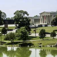 The Albright–Knox Art Gallery in Buffalo, New York
