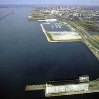 The Buffalo Outer Harbor in 1992 in New York