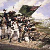 The Battle of Long Island in New York