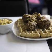 Dame's Chicken and Waffles in Durham, North Carolina