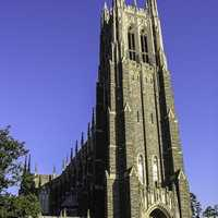 Duke Chapel at Duke University in North Carolina