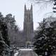 Duke Chapel in the Winter in Durham, North Carolina