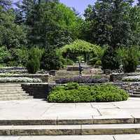Picture of Duke Gardens at Duke University in North Carolina