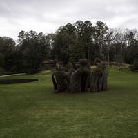 Strange structure in the middle of the Duke Gardens in Durham, North Carolina