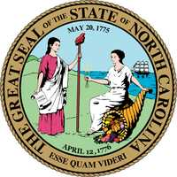 Seal of North Carolina