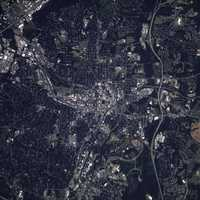 Satellite Image of Raleigh, North Carolina