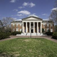 Building in the middle of the quad at UNC Chapel Hill, North Carolina
