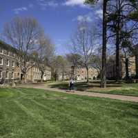Dorm Quads in UNC Chapel Hill, North Carolina