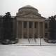 Louis Round Wilson Library in snow at UNC, Chapel Hill, North Carolina