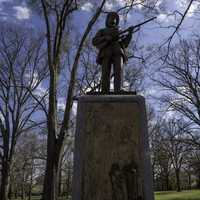 Statue on the Quad at UNC Chapel Hill, North Carolina