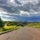 Dark Skies over the road at Theodore Roosevelt National Park, North Dakota