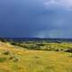Heavy Rain in the distance at Theodore Roosevelt National Park, North Dakota