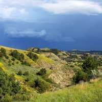 Hills and Valleys at Theodore Roosevelt National Park, North Dakota