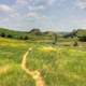 Long Hiking Path at Theodore Roosevelt National Park, North Dakota