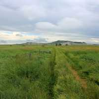 Trail to the Butte at White Butte, North Dakota