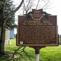 Campbell Hill Plaque, Ohio