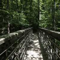 Bridge Path on the Buckeye Trail at Cayuhoga Valley National Park, Ohio