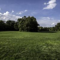 Meadow and landscape at Cayuhoga Valley National Park, Ohio