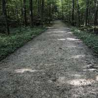 Path of the ledges Trail in Cayuhoga Valley National Park, Ohio