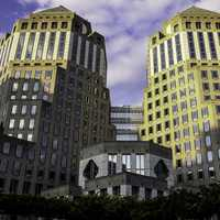 P&G Twin Towers in Cincinnati, Ohio
