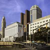Downtown Buildings in Columbus, Ohio