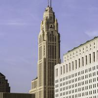 LeVeque Tower in downtown Columbus, Ohio