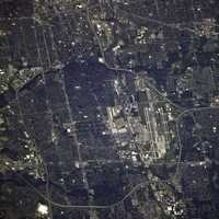 Port Columbus International Airport, Ohio from the Space Station
