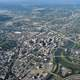 Aerial view of Downtown Dayton, Ohio