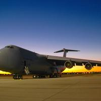 C-5 Galaxy at Wright-Patterson AFB, Dayton, Ohio