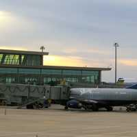 Jumbo Jet at Will Rogers World Airport in Oklahoma City, Oklahoma