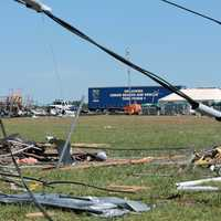 Damage from Tornado in Oklahoma