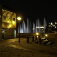 Tulsa's River Parks in fountains in Oklahoma