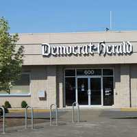 Democrat-Herald offices on Lyon Street in Albany, Oregon