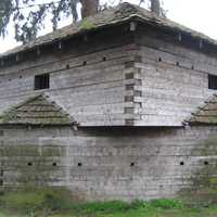 Fort Yamhill blockhouse in Dayton, Oregon