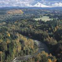 Jonsrud Viewpoint in Sandy in Oregon