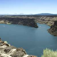 Lake Billy Chinook overview landscape