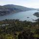 Overview landscape of Columbia River Scenery